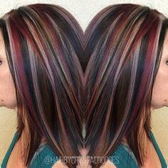 Best hair color ideas in 2017 104 - New hair - Hair Designs Hair Color 2017, Hair Color And Cut, Cool Hair Color, Balayage Hair, Ombre Hair, Haircolor, Auburn Balayage, Brown Balayage, Hair Dye
