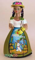 """NAJACO Ceramic Figurine """"Lupita"""" Doll, Pastora Najaco.com.mx. The Original Lupita Dolls"""
