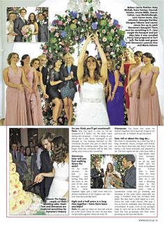 Giovanna's Kelsey Rose bridesmaids  www.kelseyrose.co.uk