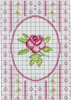 Points de croix *@* cross stitch chart Cross Stitch Love, Cross Stitch Borders, Cross Stitch Flowers, Cross Stitch Charts, Cross Stitch Designs, Cross Stitching, Cross Stitch Embroidery, Embroidery Patterns, Cross Stitch Patterns