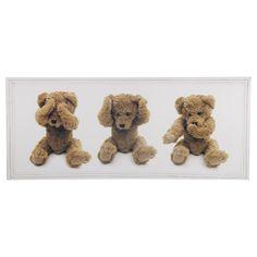 Bild Teddy Wer nicht's Böses sieht und nicht's Böses hört kann nicht's Böses sagen!