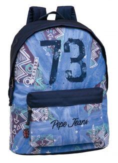 "Mochila Porta-Ordenador pepe jeans  Adaptable 15"""