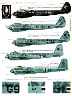 Ju88 Junkers Night Fighters
