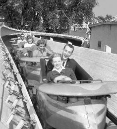 Riverview Amusement Park, Chicago 1960