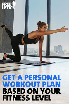 Get a personal workout plan based on your fitness level. High intensity training: anytime & anywhere.
