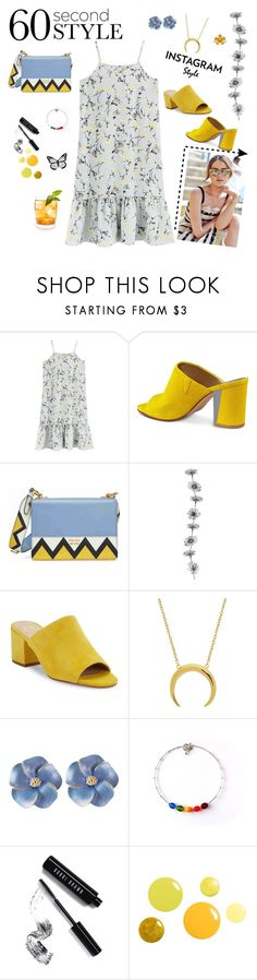 """""""60 Seconds Style"""" by marianti ❤ liked on Polyvore featuring Nine West, Prada, Marc Fisher LTD, Bobbi Brown Cosmetics, David Tutera, 60secondstyle and PVShareYourStyle"""