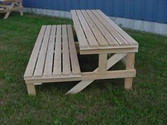 Tiered Garden Display and Step Benches - Wood Display Products - Step Bench Display and Garden Center Step Bench Display - 6SB318 - Two & Three Tier Step Benches - Bench Systems