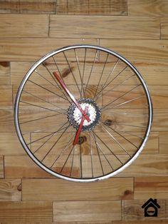 Homens da Casa: Relógio de Roda de Bicicleta - Faça você mesmo
