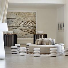 vida dubai interior - I really like the soft tone with brown giving the space a elegant and luxurious space