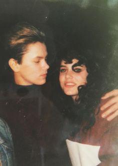""" — Ione Skye on River. Beautiful Person, Beautiful Boys, River Phonix, Ione Skye, My Own Private Idaho, Joaquin Phoenix, Keanu Reeves, Look Cool, Vintage Men"