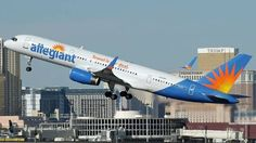 FlightMode: FAA reports safety issues for Allegiant Airlines Airline Alliance, Allegiant Air, Hawaiian Airlines, National Airlines, Airplane Photography, Passenger Aircraft, Aircraft Photos, Commercial Aircraft, Air France