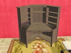 Sims 2 - HEMNES Desk, Clutter for Desk, Wall Shelf - Downloads - BPS Community