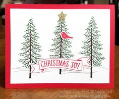 Card Creations by Beth: Thoughtful Branches Christmas Card