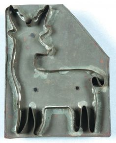 Early Deer Cookie Cutter