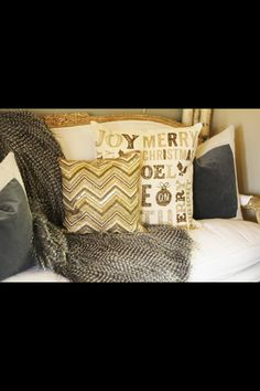 Antique gold settee-Christmas home tour-Haddock 2015