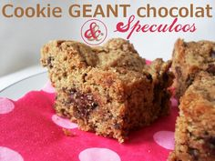 Cookies Géant Choco-Speculoos