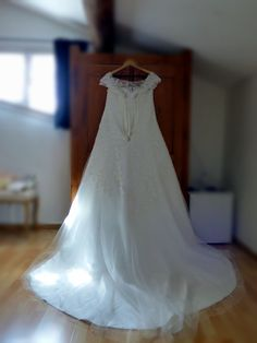 Wedding dress  Photograph by Cherry Thatcher