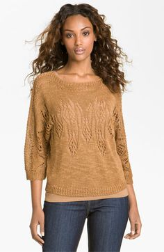 Nic + Zoe Textured Pullover (Petite) available at Nordstrom