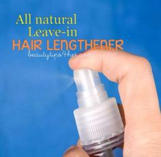 Leave-in Hair Growth Treatment with Rosemary | Look Good Naturally