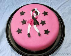 Just Dance cake