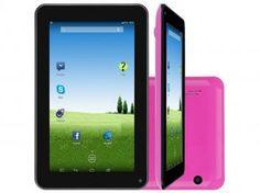 "Tablet DL e-Volution S 8GB Tela 7"" Wi-Fi - Android 4.4 Proc. Dual Core Câmera Integrada"