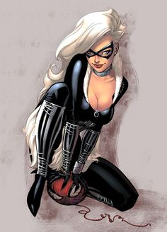 Black Cat color by logicfun