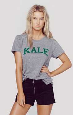 KALE LOOSE TEE | @ShopPlanetBlue