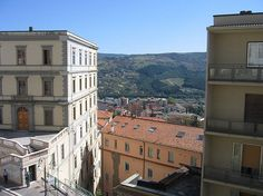 Potenza, the capital of Basilicata, Italy-where our family is from.  Hope to visit there someday.