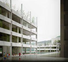E2A . SCHOOL ALLMEND . Zurich (1)