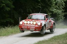 Patrick Snijers' Bastos 911 at the Goodwood Forest Rally Stage. Driven and owned by JP Gaban