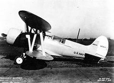 23 January 1934 first flight #flighttest of the Berliner-Joyce XF3J, the last fixed gear fighter tested by the US Navy