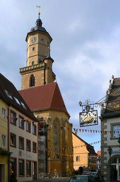 Stadtkirche #Volkach #Mainschleife