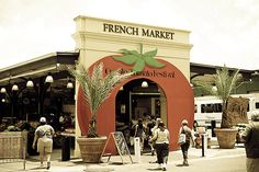 For local art, flea market finds and fresh produce daily, head to the French Market.