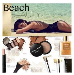 """""""Beach Beauty"""" by stacey-lynne ❤ liked on Polyvore featuring beauty, Bobbi Brown Cosmetics, Becca, Yves Saint Laurent and Tom Ford"""