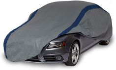 """Duck Covers A3C200 Weather Defender Car Cover for Sedans up to 16' 8"""",Gray/Navy Blue,200 Inch Length x 60 Inch Width x 51 Inch Height Truck Covers, Car Covers, Defender Car, Car Body Cover, Racing Stripes, Cover Gray, Unisex, Car Car, Custom Cars"""