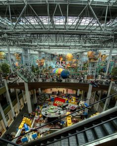 LEGO Land at the Mall of America in Bloomington.