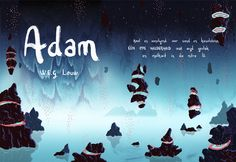 Narrative Illustrations by Inus Pretorius for the poem 'Adam' by W.E.G Louw 12