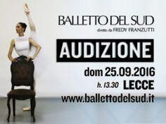 Il Balletto del Sud cerca danzatori e danzatrici, l'audizione il 25 settembre