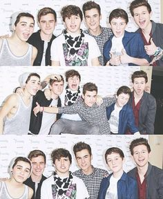 O2L. They are not normal, which makes me love them even more. I'm going to meet them in just 8 days in New York City!