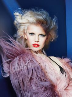 """Ola Rudnicka in """"G-Force"""" by Patrick Demarchelier for Allure Magazine, September 2014"""