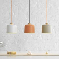 Find out now the new Fuse Lamp by Note Design Studio. Fuse lamps are the most recent creation of Note Design Studio for Italian design brand Ex. These porcelain and wood pendant lamps were created w Lamp Design, Lighting Inspiration, Lamp, Wood Pendant Lamps, Beautiful Lamp, Interior Lighting, Pendant Lamp, Light, Note Design Studio