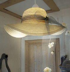 Chapeau pour la suspension ! - Hat as a ceiling light ! Meubles et objets - Pure Sweet Home