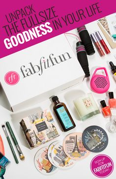 Start your morning in style with a FabFitFun box. From beauty products to fashion and fitness finds, FabFitFun is more than just beauty samples; it's a seasonal box hand-picked by the FabFitFun team to help you feel good from the inside out. With over $200 worth of beauty products inside, sign up for your box and save today!