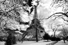 Eiffel Tower - Paris - France - Europe Photographic Print by Philippe Hugonnard at Art.co.uk