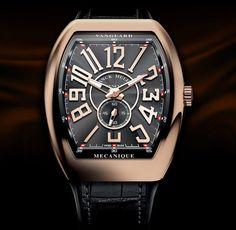 Franck Muller Vanguard Slim V45 SS6 gold front