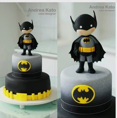 "Andrea Kato Cake Designer on Instagram: ""Batman"""