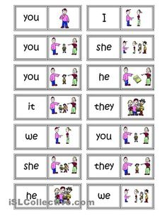 SUBJECT PRONOUNS - Buscar con Google