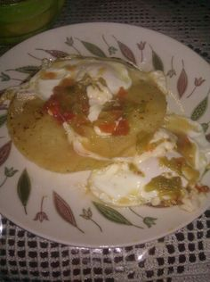 Real mexican food. So blessed to have a traditional mexican family.