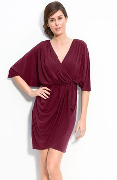 Nursing Friendly and Work Appropriate Wrap Dress...I really need this.