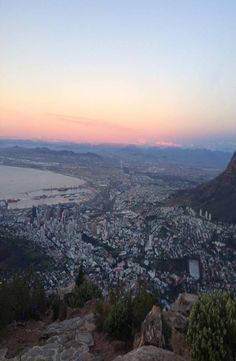 Lion's Head is a mountain in Cape Town, South Africa and hard not to see while being there. How to reach the top of the Lion's Head. Lions Head Cape Town, Cape Town South Africa, Airplane View